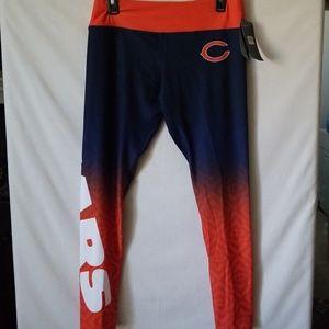 17d7b0bad9b80 NFL Pants | Womens Chicago Bears Gradient Print Leggings Size | Poshmark
